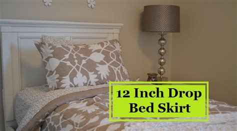 12 inch bed skirt 12 inch bed skirt 28 images 12 inch drop bed skirt 12