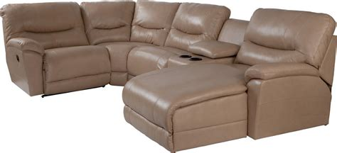 5 piece sectional sofa with chaise dawson casual five piece reclining sectional sofa with las