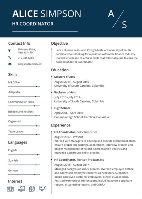resume format word for hr resume template 42 free word excel pdf psd format free premium templates