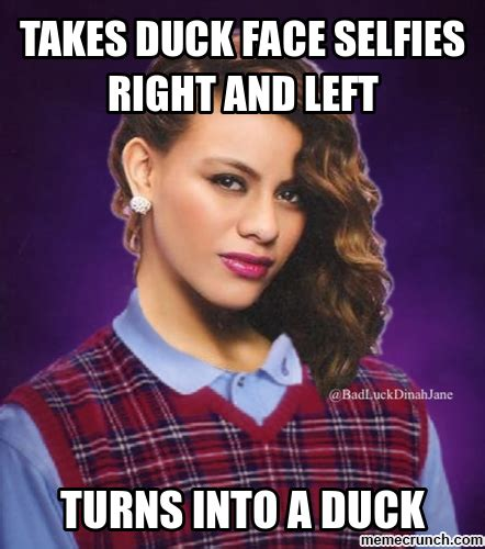 Duckface Meme - duck face selfie