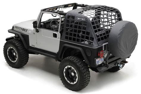 Jeep Wrangler Cargo Net Smittybilt 571035 Smittybilt C Res Cargo Net Free