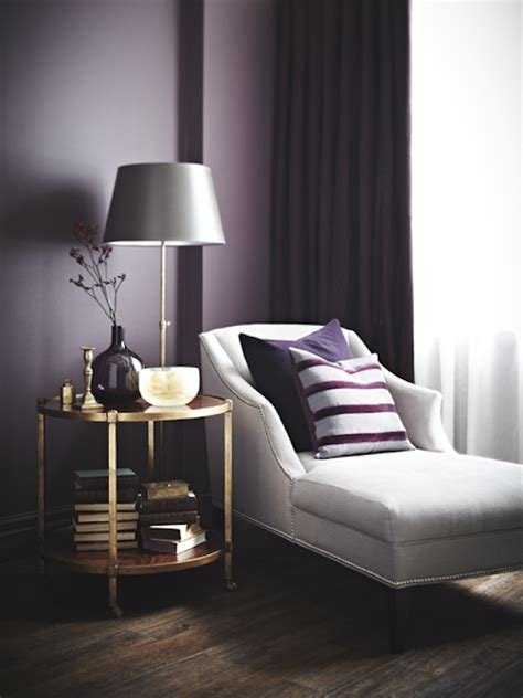 plum and gray living room decorating with moody colors the inspired room