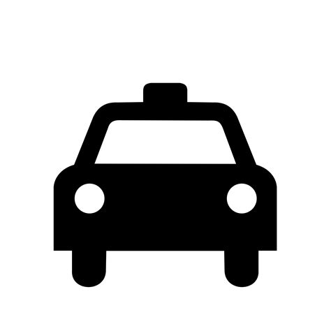 car logo black and white taxi logos png images free download