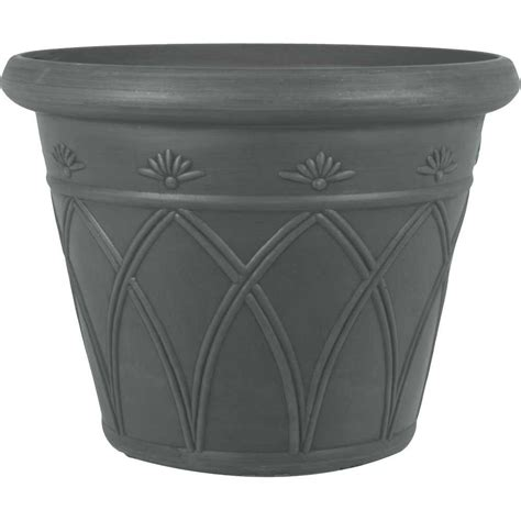 Grey Plastic Planters by Woolly Pocket Living Wall Planter 2 Grey Recycled Plastic