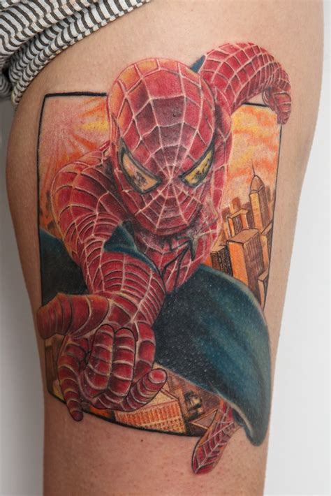 spiderman tattoos tattoos on marvel tattoos comic and marvel