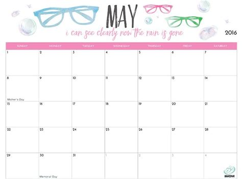 printable calendar  moms  printable calendar calendar quotes june calendar printable