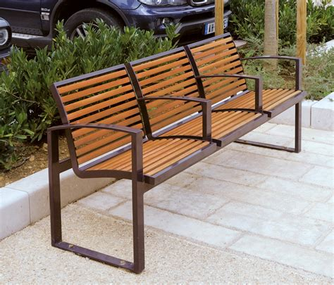 wood and metal garden bench bench backless park bench indoor metal bench backless