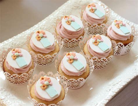wedding shower cupcakes pictures blushing bridal shower play plan