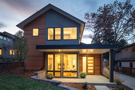 value driven modern home modern exterior denver by