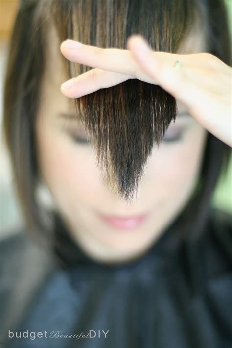 how to trim sides of hair cutting my own hair what short hairstyle 2013