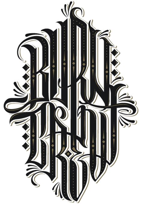 Best Handmade Fonts - typo graphical best of 2011 day 3