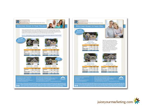 American Mba Brochure by Flyers Mortgage And Real Estate Juice Marketing And Design
