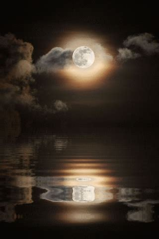 amazoncom full moon reflecting water  wallpaper