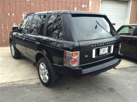 tan land rover sell used 2003 land rover range rover hse sport utility 4
