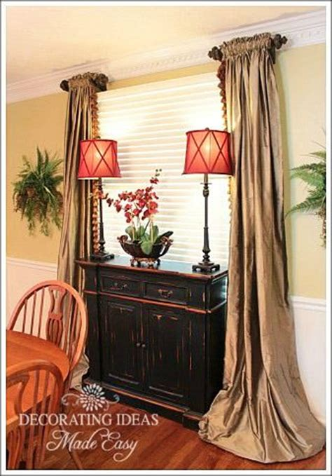 Window Curtains For Dining Room Decor Pinterest The World S Catalog Of Ideas