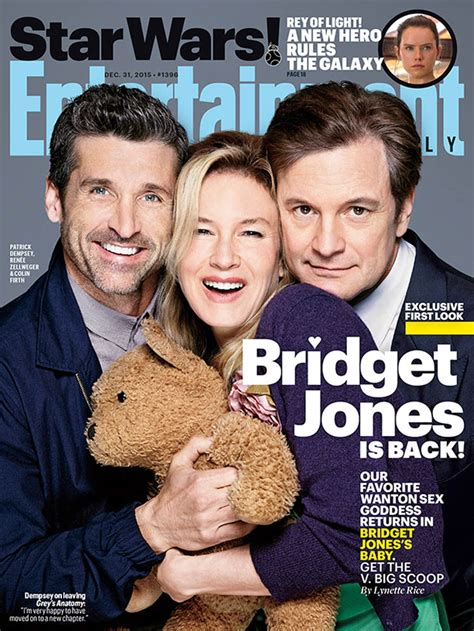 Bridget Jones S Baby bridget jones s baby cast covers entertainment weekly and why is bridget maybe with