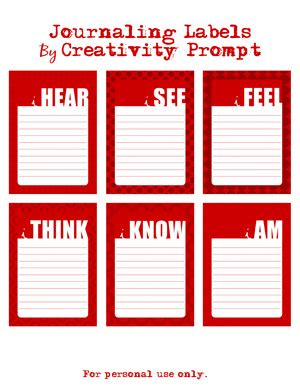 printable journaling tags friday freebie here again journaling cards