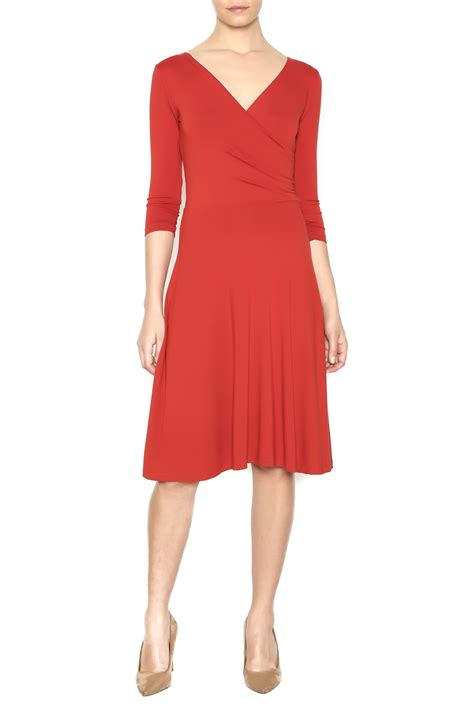 Dress Fit L Pl neda rust fit flare dress from by n 233 da shoptiques