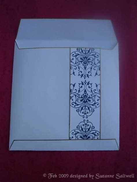 How To Make An Envelope From A Sheet Of Paper - an envelope for an 8 card using an a3 sheet of
