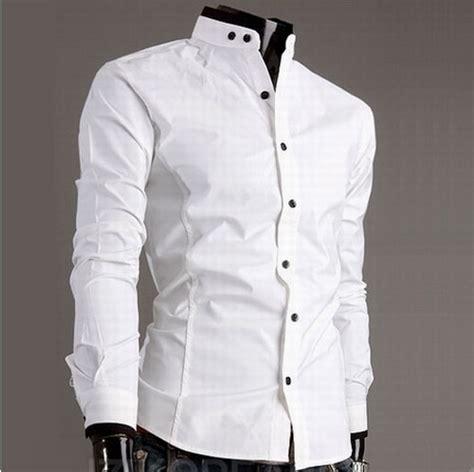 design entire shirt 2014 sale twill cotton full new dress fashion quality long