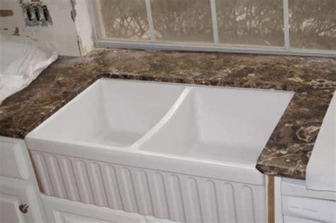 Marble Countertop Installation by Emparador Kitchen Countertops Hardwood Flooring Houston