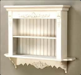 shabby chic shelves shelf wall shabby chic display country wood carved