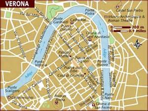 Verona Italy Map by Verona Italy Map Images
