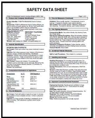 ghs sds template clorox material safety data sheet pictures to pin on