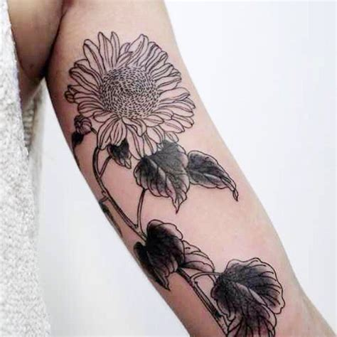 sunflower arm tattoo sunflower images designs