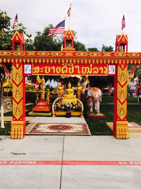 new year in riverside ca wat lao buddhist of riverside buddhist temples