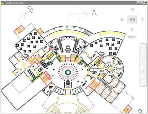 hotel floor plan dwg plan hotel 5 etoiles hotel 5 star projects to try