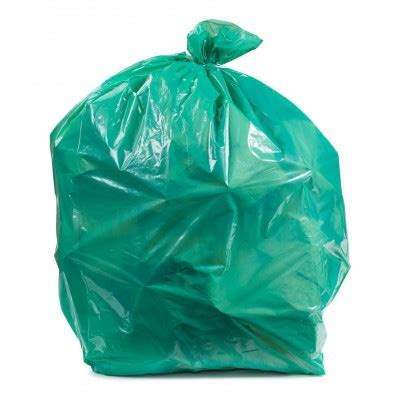 Tasjh Bag 2 40 45 gallon green colored trash bags 1 2 mil