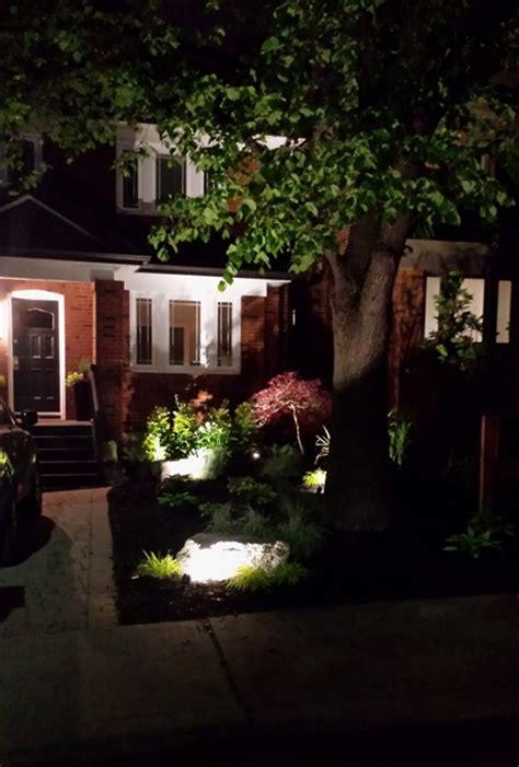 Landscape Lighting Toronto Landscape Lighting Our Work Toronto Landscape Design