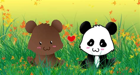 panda bear panda bear 0805080783 bear and panda by animefreak1212 on