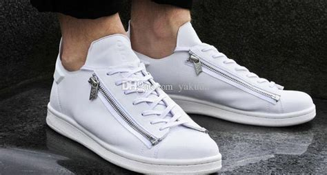 From Designer Shoes To Designer Zip Codes 3 by Best 2016 New Mens Y3 Stan Smith Zip Trainers Personality