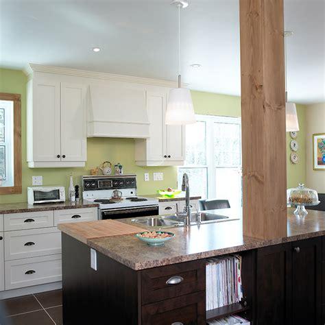 騁amine cuisine armoire de cuisine stratifi lot sureleve avec