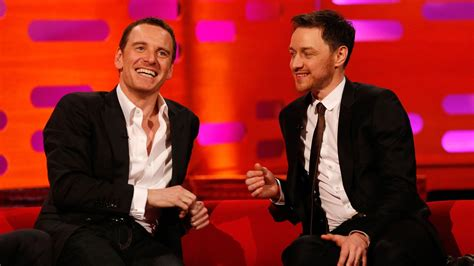 james mcavoy on graham norton show michael fassbender james mcavoy s fan art romance the