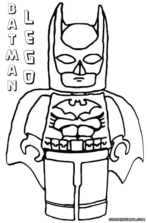 Lego Batman Coloring Pages For by Lego Batman Coloring Pages Coloring Pages To