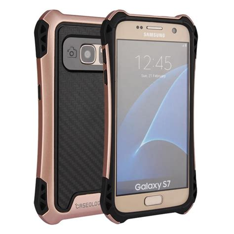Caseology Samsung Grand 2 Combo Rugged Armor Carbon for iphone7 7plus caseology hybrid armor rugged tpu pc
