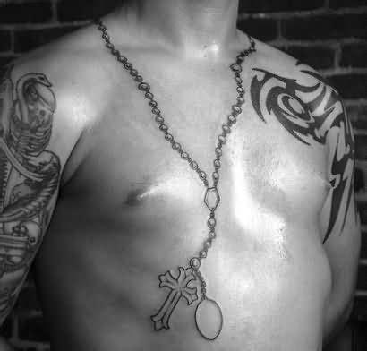 rosary around neck 52 rosary tattoos for