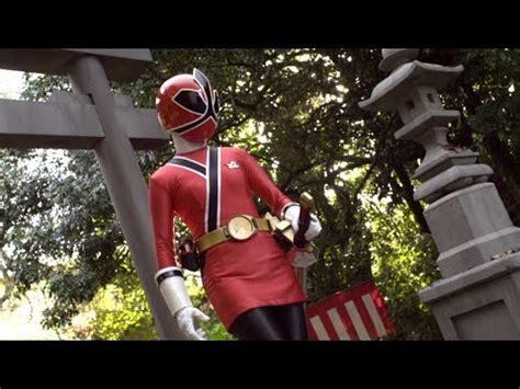 samurai brother vs ninja sister enter lauren shiba female red ranger youtube