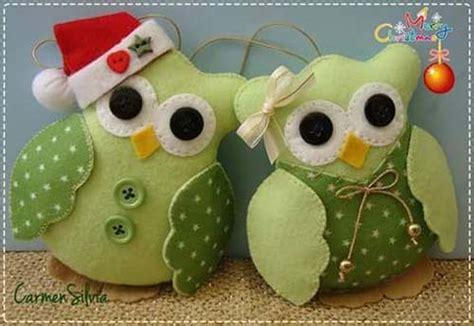 imagenes buhos navideños moldes buhos navide 241 os en fieltro gratis