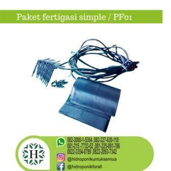 Jual Alat Hidroponik Fertigasi paket fertigasi jual alat bahan media hidroponik