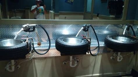 totally cool bathroom sinks picture of ford s garage