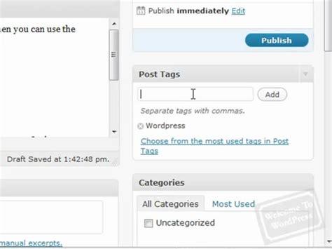 wordpress tutorial how to post wordpress tutorial how to write posts for your wordpress