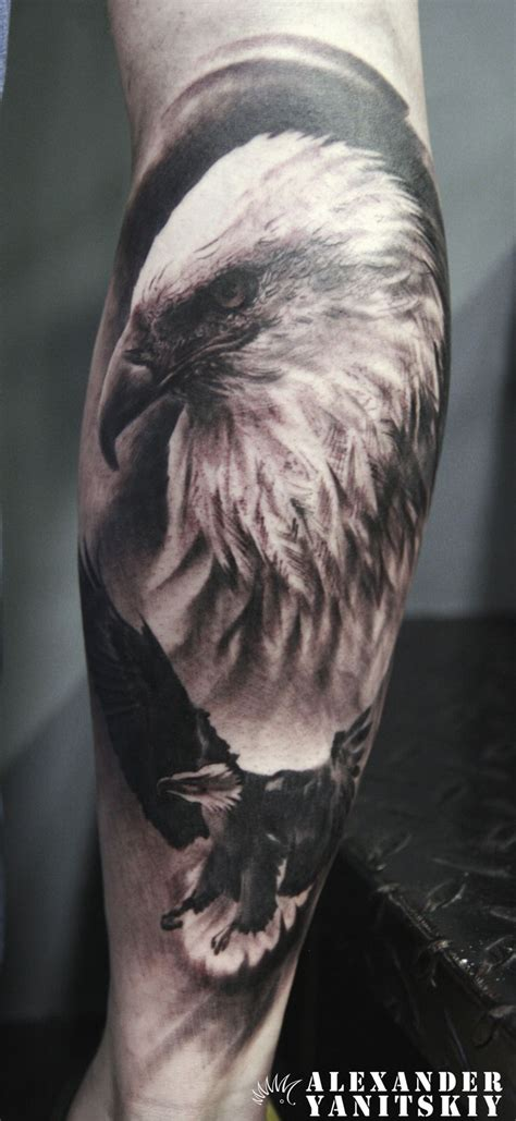 alexander tattoo eagle by yanitskiy kipod