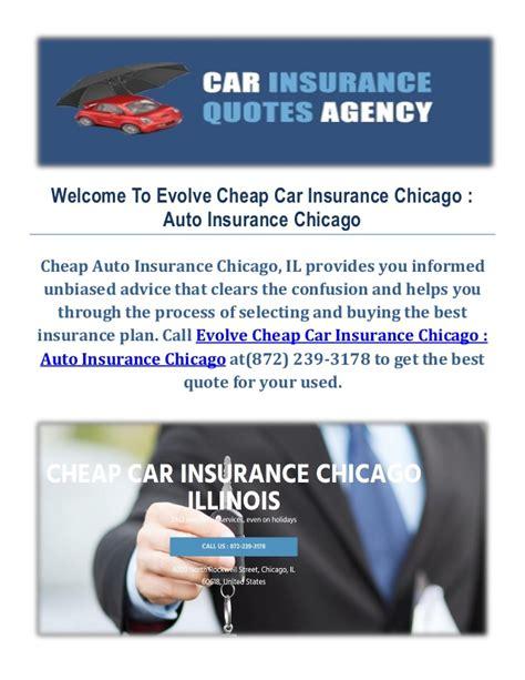 evolve cheap car insurance  chicago il cheap auto