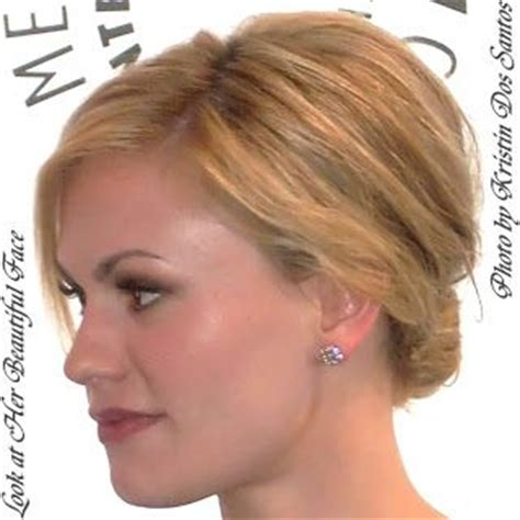 haircuts for protruding chin convex profile face shapes pinterest bangs curls
