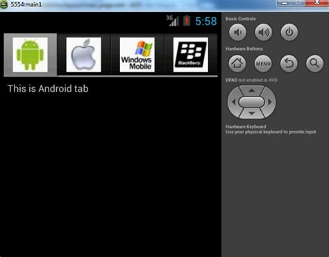 android equal width layout make android tab width equal to icon image width stack