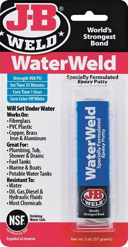 J B Weld 8277 Water Weld epoxy adhesive waterweld 2oz